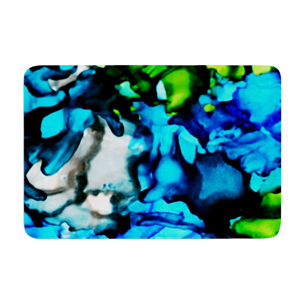 "Claire Day ""Chesapeake Bay"" Memory Foam Bath Mat - KESS InHouse"