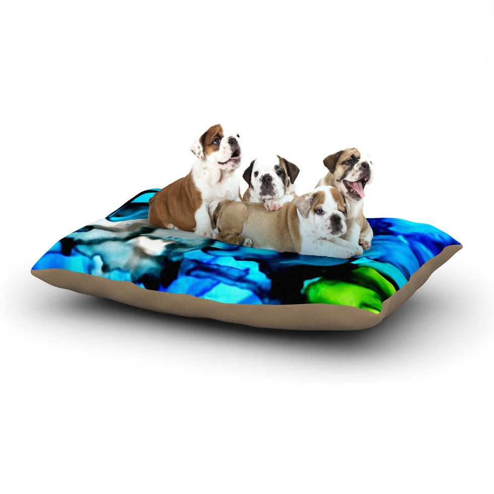 "Claire Day ""Chesapeake Bay"" Dog Bed - KESS InHouse  - 1"