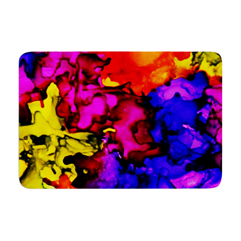 "Claire Day ""Chica"" Memory Foam Bath Mat - KESS InHouse"