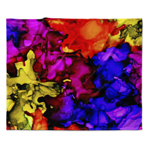 "Claire Day ""Chica"" Fleece Throw Blanket"