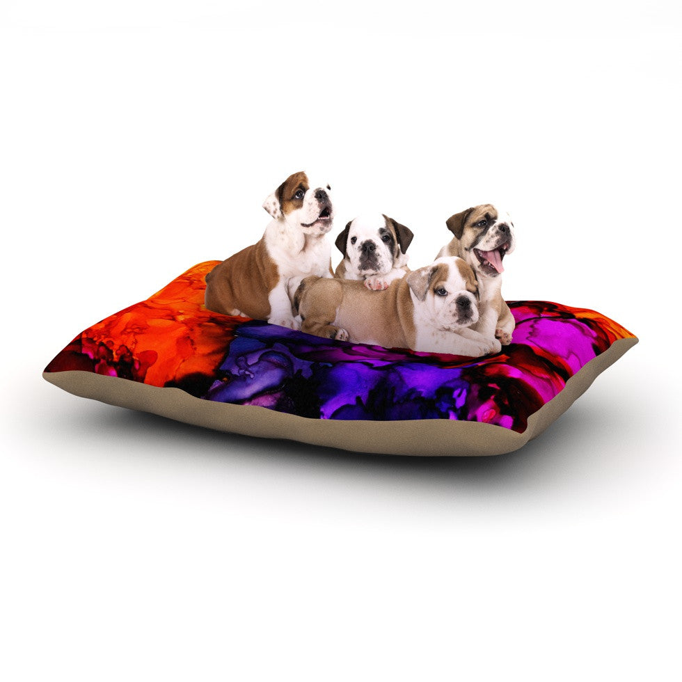 "Claire Day ""Family Photos"" Dog Bed - KESS InHouse  - 1"