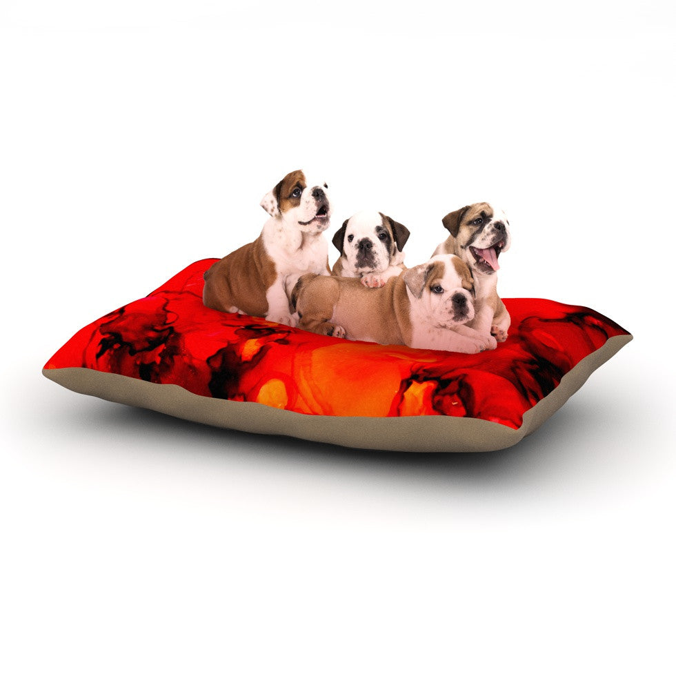 "Claire Day ""Family Photos II"" Dog Bed - KESS InHouse  - 1"