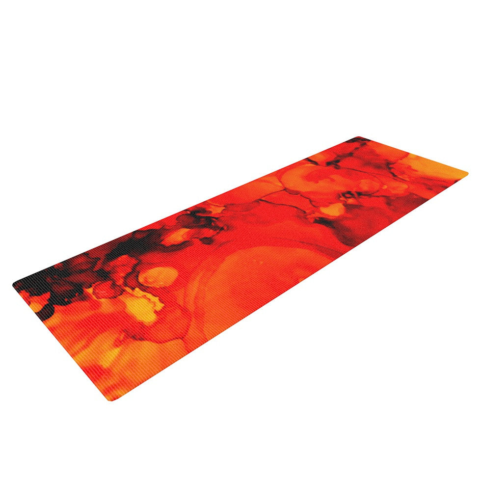 "Claire Day ""Family Photos II"" Yoga Mat - KESS InHouse  - 1"