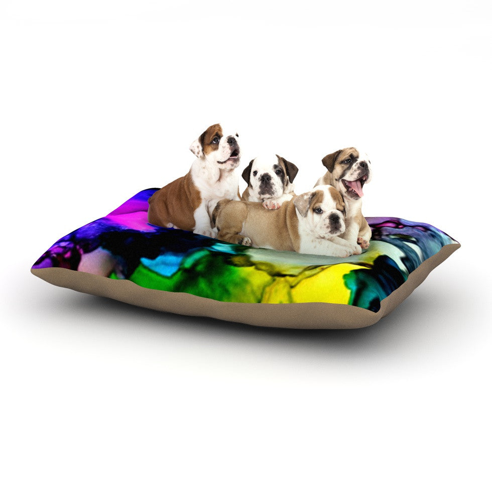 "Claire Day ""A Little Out There"" Dog Bed - KESS InHouse  - 1"