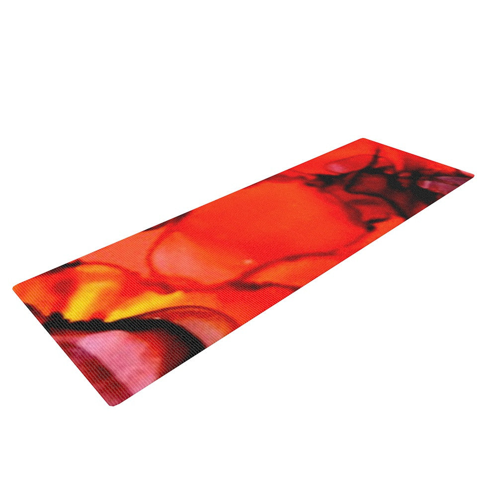 "Claire Day ""Mordor"" Yoga Mat - KESS InHouse  - 1"