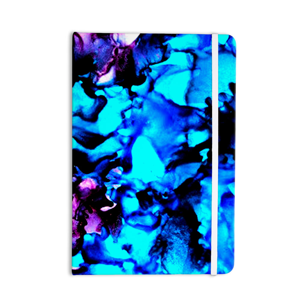 "Claire Day ""Peace Offering"" Blue Aqua Everything Notebook - KESS InHouse  - 1"