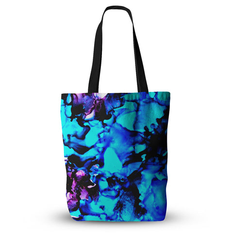 "Claire Day ""Peace Offering"" Blue Aqua Everything Tote Bag - KESS InHouse  - 1"