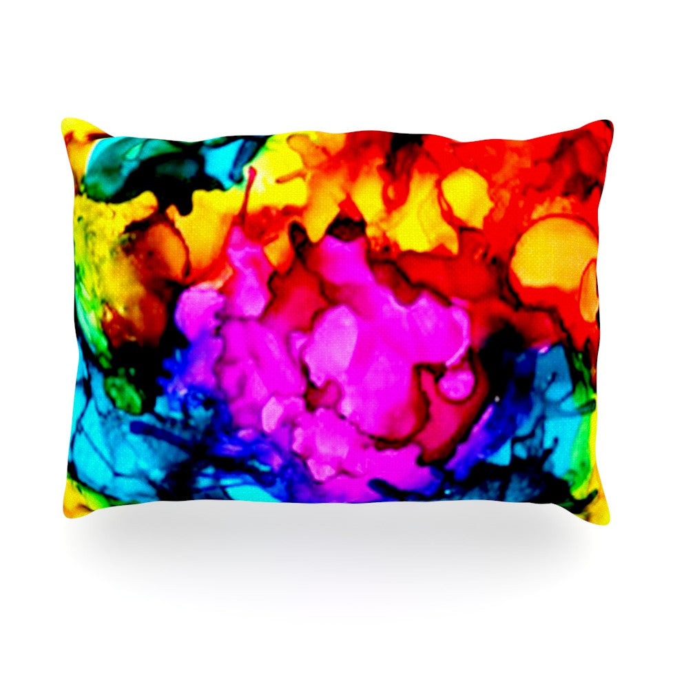 "Claire Day ""Sweet Sour"" Oblong Pillow - KESS InHouse"
