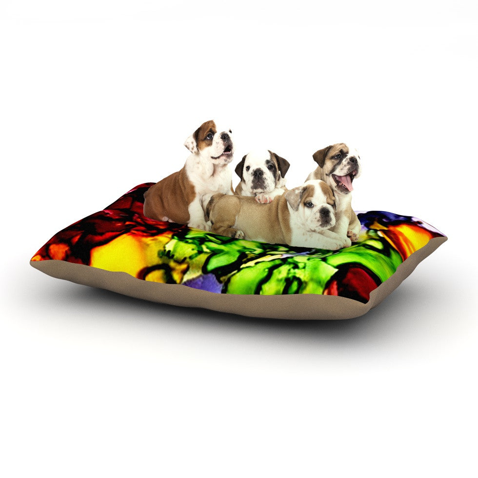 "Claire Day ""Teacher's Pet"" Dog Bed - KESS InHouse  - 1"