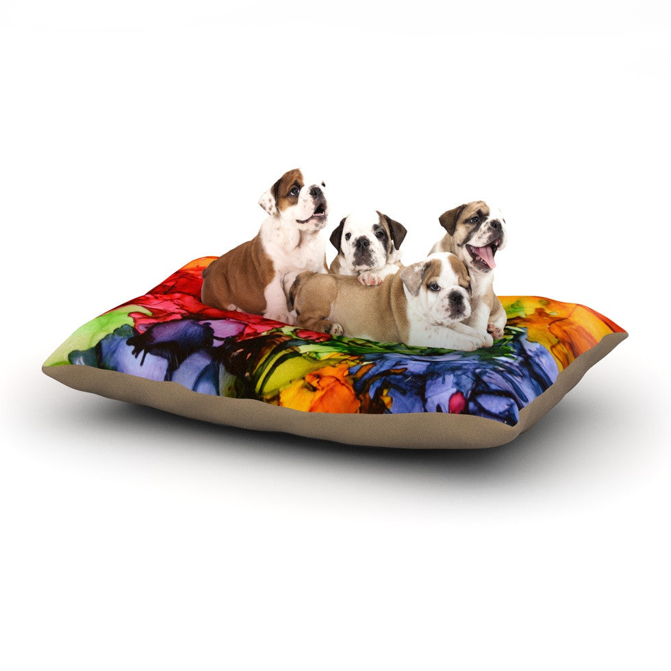 "Claire Day ""Teacher's Pet II"" Dog Bed - KESS InHouse  - 1"