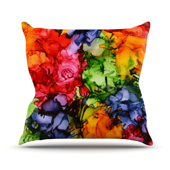 "Claire Day ""Teacher's Pet II"" Outdoor Throw Pillow - KESS InHouse  - 1"