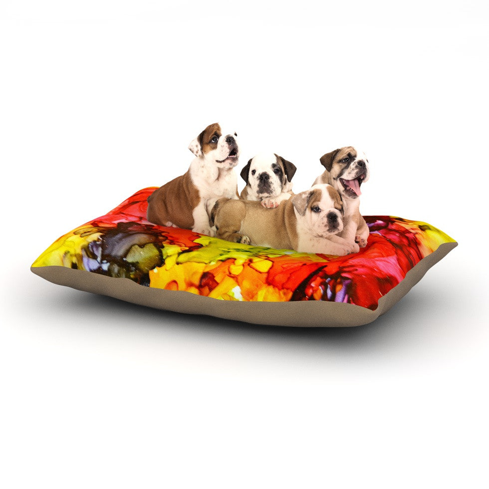 "Claire Day ""Southern Comfort"" Dog Bed - KESS InHouse  - 1"