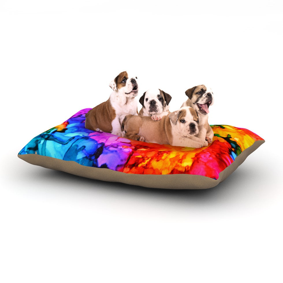 "Claire Day ""Sweet Sour II"" Dog Bed - KESS InHouse  - 1"