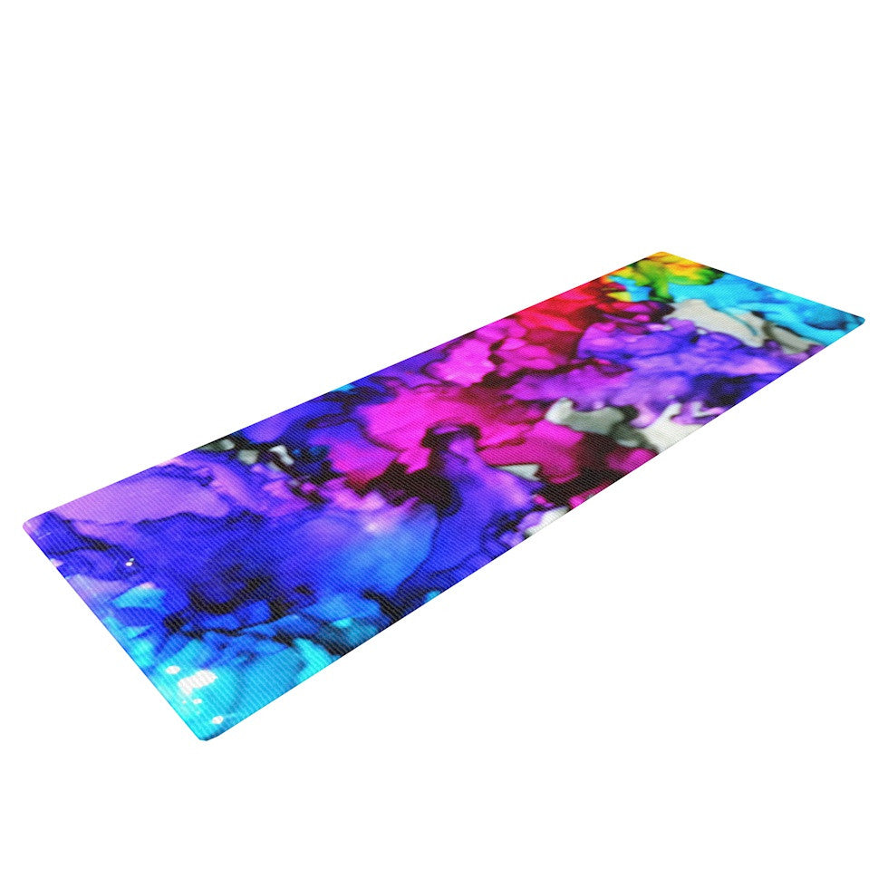 "Claire Day ""Indie Chic"" Yoga Mat - KESS InHouse  - 1"