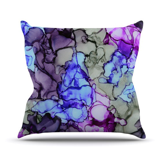 "Claire Day ""String Theory"" Outdoor Throw Pillow - KESS InHouse  - 1"