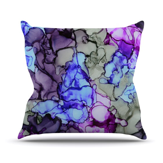 "Claire Day ""String Theory"" Throw Pillow - KESS InHouse  - 1"