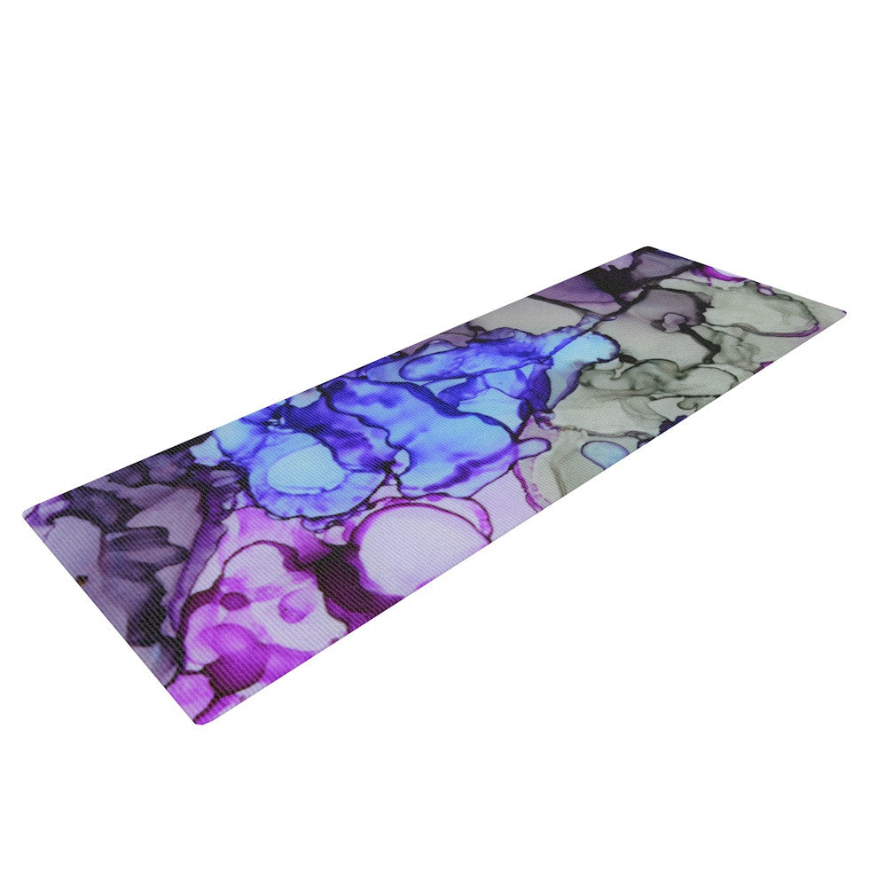 "Claire Day ""String Theory"" Yoga Mat - KESS InHouse  - 1"