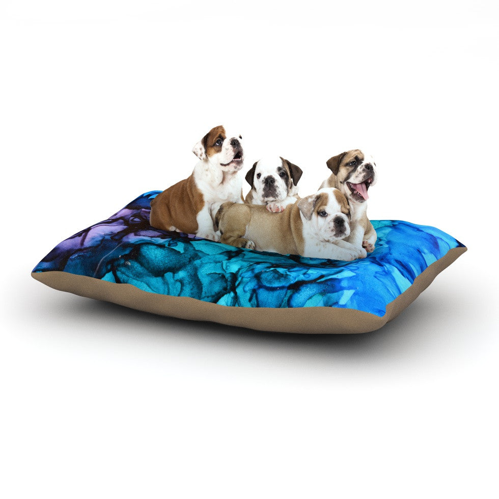 "Claire Day ""Lucid Dream"" Dog Bed - KESS InHouse  - 1"