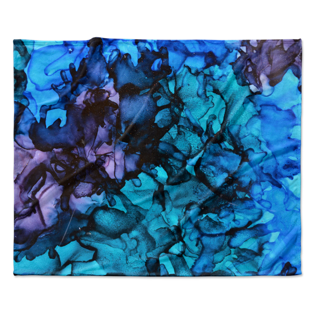 "Claire Day ""Lucid Dream"" Fleece Throw Blanket"