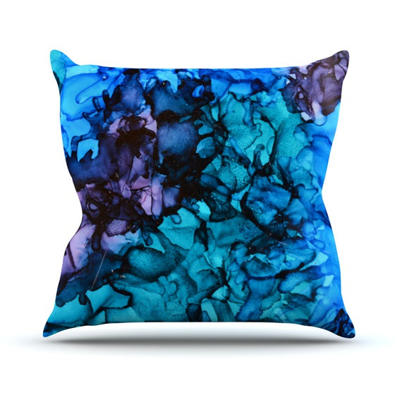 "Claire Day ""Lucid Dream"" Throw Pillow - KESS InHouse  - 1"