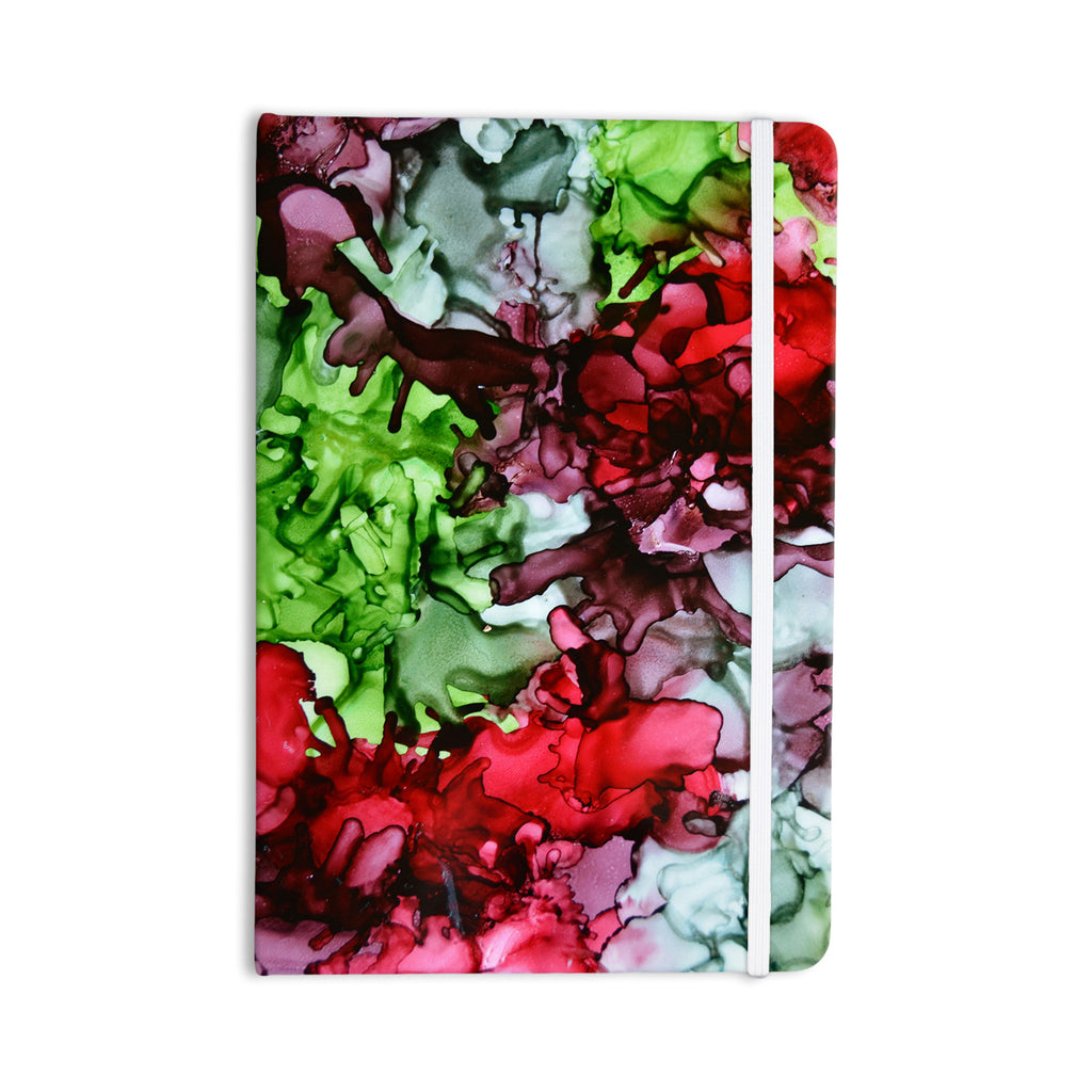 "Claire Day ""TMNT"" Green Maroon Everything Notebook - KESS InHouse  - 1"