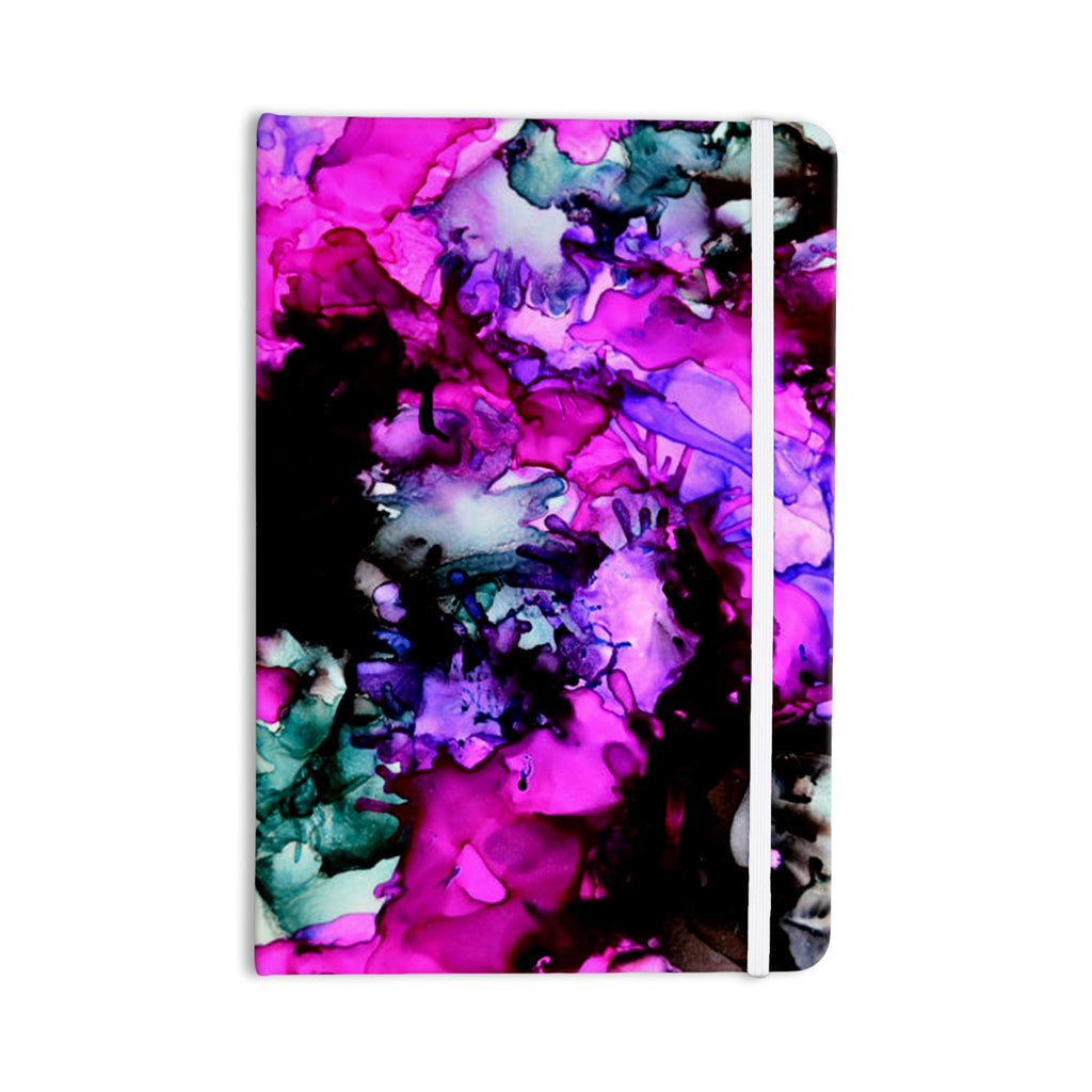 "Claire Day ""Siren"" Pink Purple Everything Notebook - KESS InHouse  - 1"