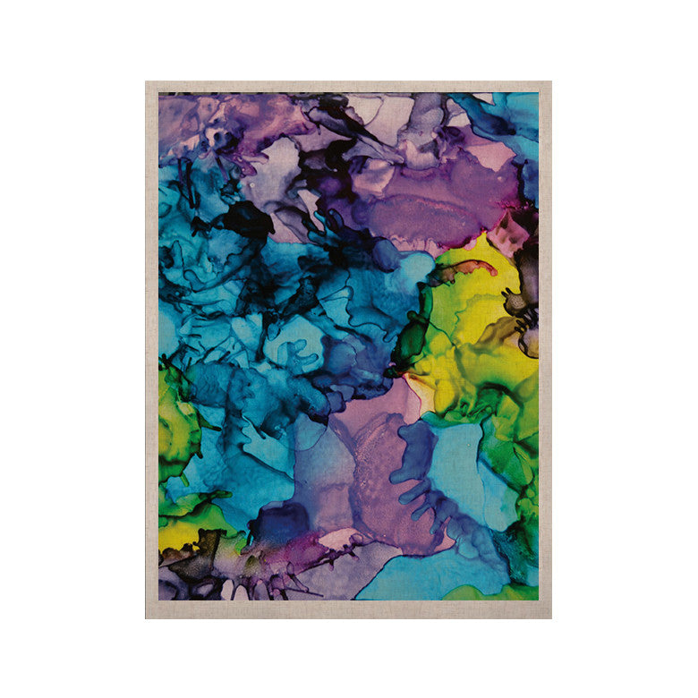 "Claire Day ""Mermaids"" Blue Paint KESS Naturals Canvas (Frame not Included) - KESS InHouse  - 1"