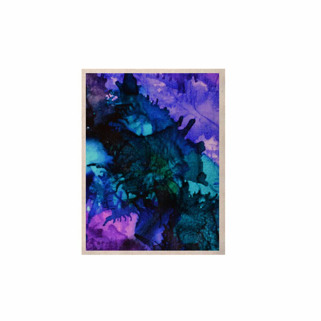 "Claire Day ""Soul Searching"" Blue Purple KESS Naturals Canvas (Frame not Included) - KESS InHouse  - 1"