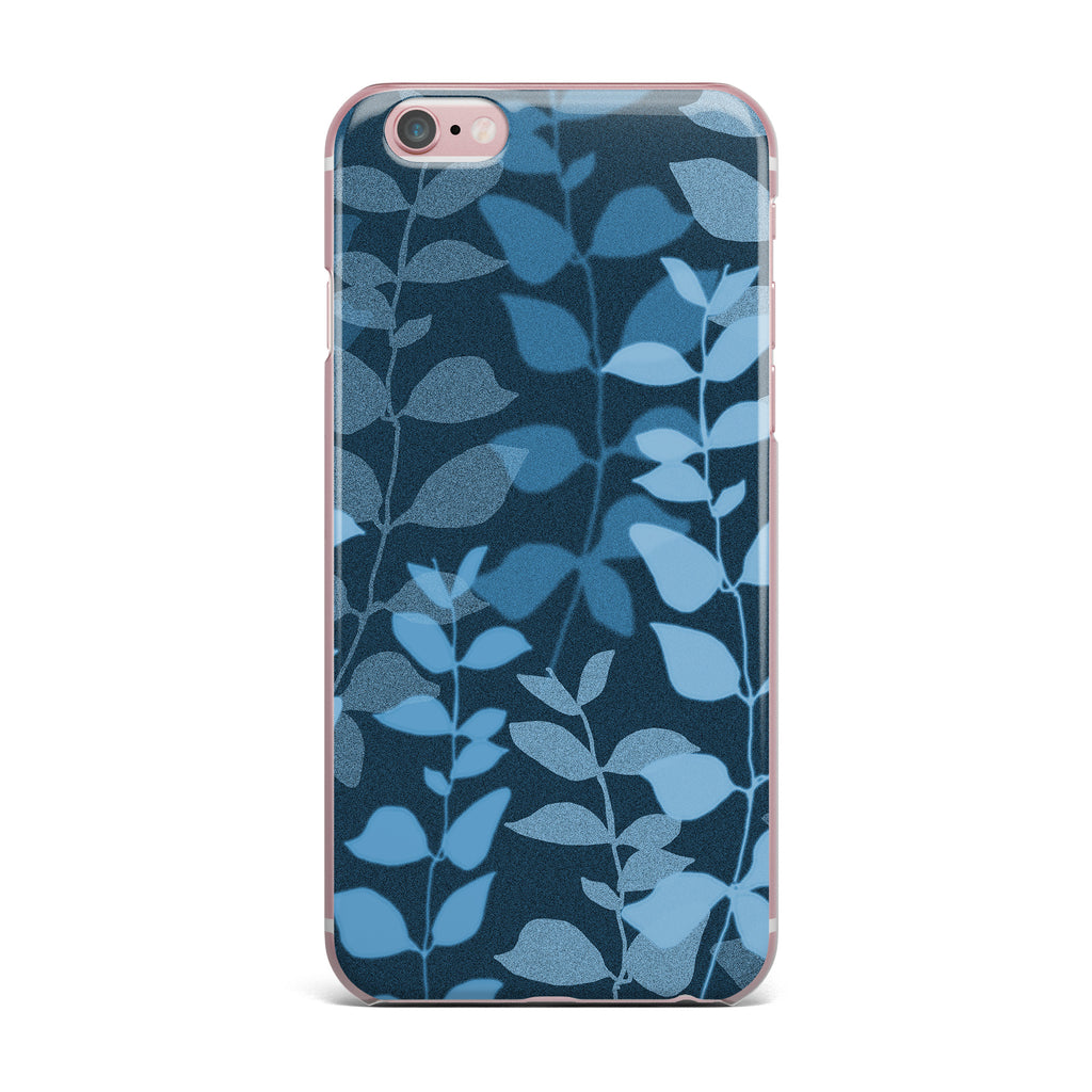 "Carolyn Greifeld ""Leaves Of Dreams"" Blue iPhone Case - KESS InHouse"