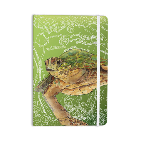 "Catherine Holcombe ""Shelley Green Sea"" Everything Notebook - KESS InHouse  - 1"