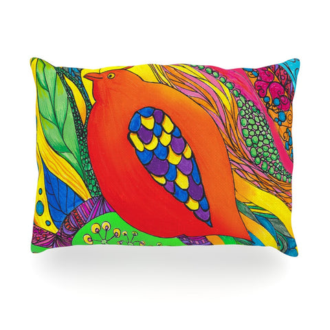 "Catherine Holcombe ""Psycho-Delic Dan"" Oblong Pillow - KESS InHouse"
