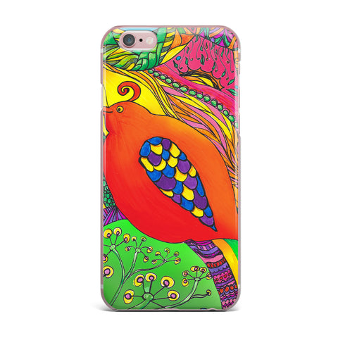 "Catherine Holcombe ""Psycho-Delic Dan"" iPhone Case - KESS InHouse"