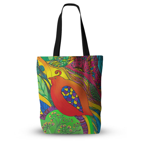 "Catherine Holcombe ""Psycho-Delic Dan""  Everything Tote Bag - Outlet Item"