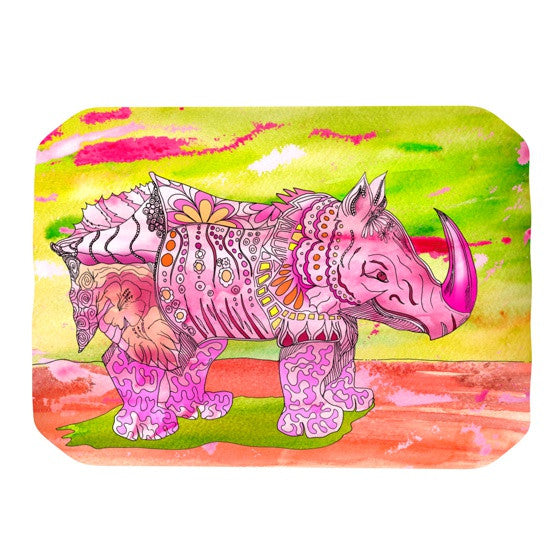 "Catherine Holcombe ""Pretty in Pink"" Place Mat - KESS InHouse"