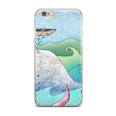 "Catherine Holcombe ""I'm on a Boat"" iPhone Case - KESS InHouse"