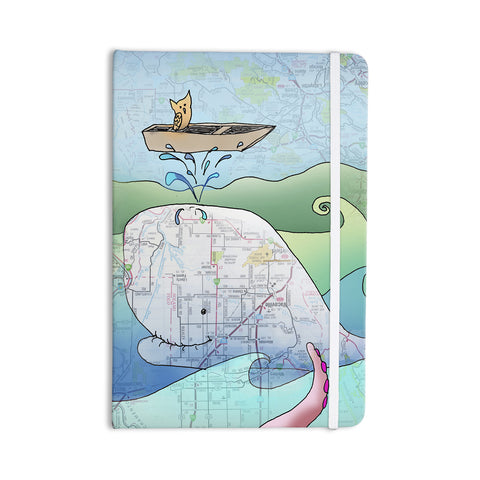 "Catherine Holcombe ""I'm on a Boat"" Everything Notebook - KESS InHouse  - 1"