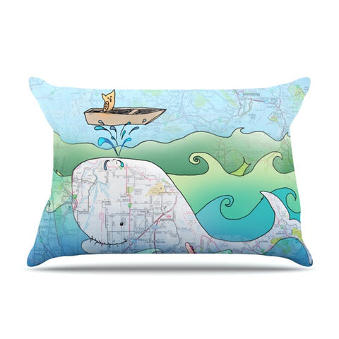 "Catherine Holcombe ""I'm on a Boat"" Pillow Sham - KESS InHouse"