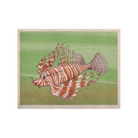 "Catherine Holcombe ""Fish Manchu"" KESS Naturals Canvas (Frame not Included) - KESS InHouse  - 1"