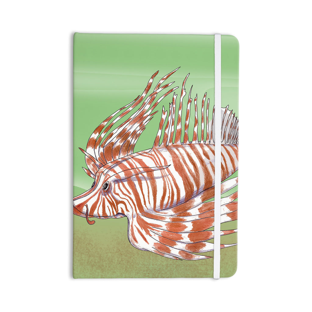 "Catherine Holcombe ""Fish Manchu"" Everything Notebook - KESS InHouse  - 1"