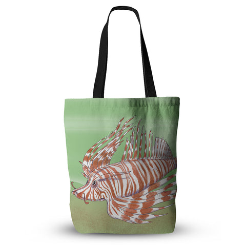 "Catherine Holcombe ""Fish Manchu""  Everything Tote Bag - Outlet Item"