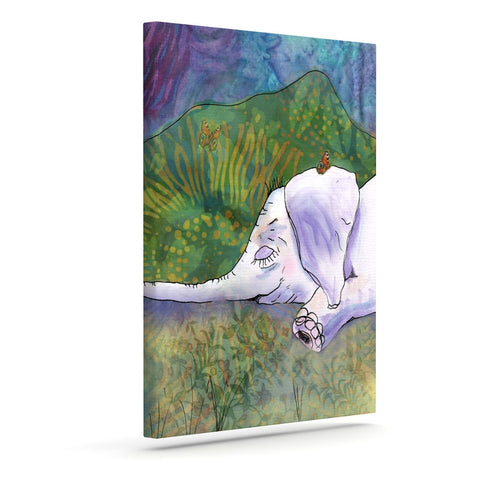 "Catherine Holcombe ""Ernie's Dream"" Outdoor Canvas Wall Art - KESS InHouse  - 1"
