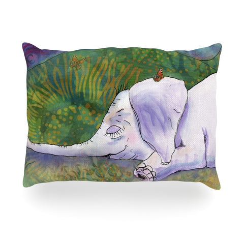 "Catherine Holcombe ""Ernie's Dream"" Oblong Pillow - KESS InHouse"