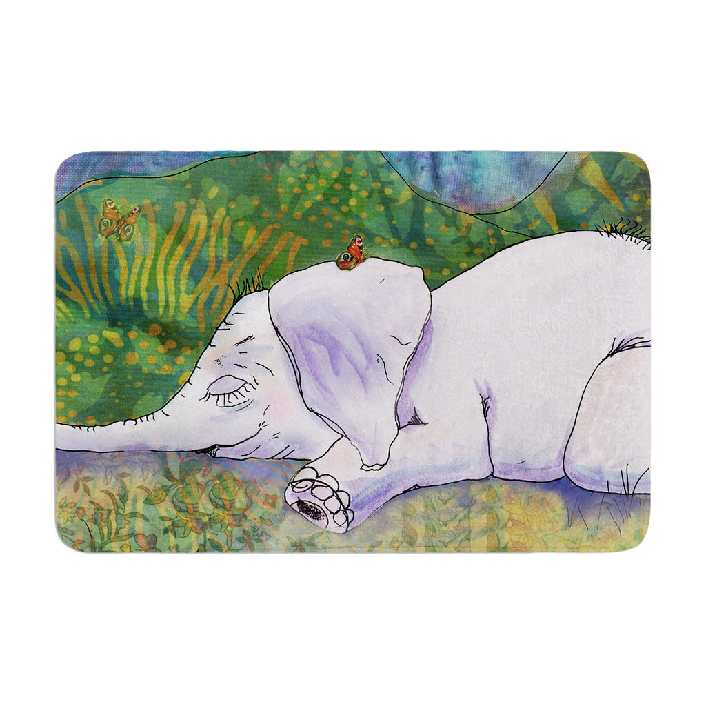 "Catherine Holcombe ""Ernie's Dream"" Memory Foam Bath Mat - KESS InHouse"