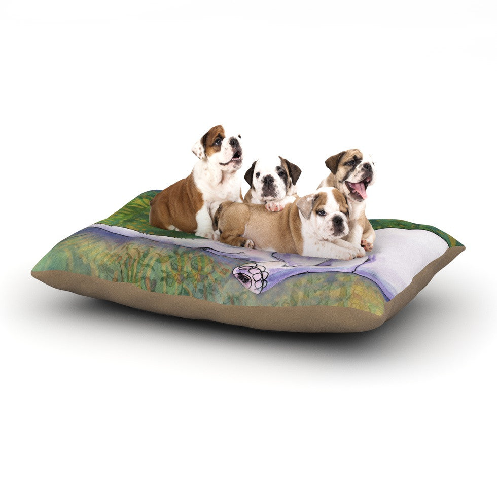 "Catherine Holcombe ""Ernie's Dream"" Dog Bed - KESS InHouse  - 1"
