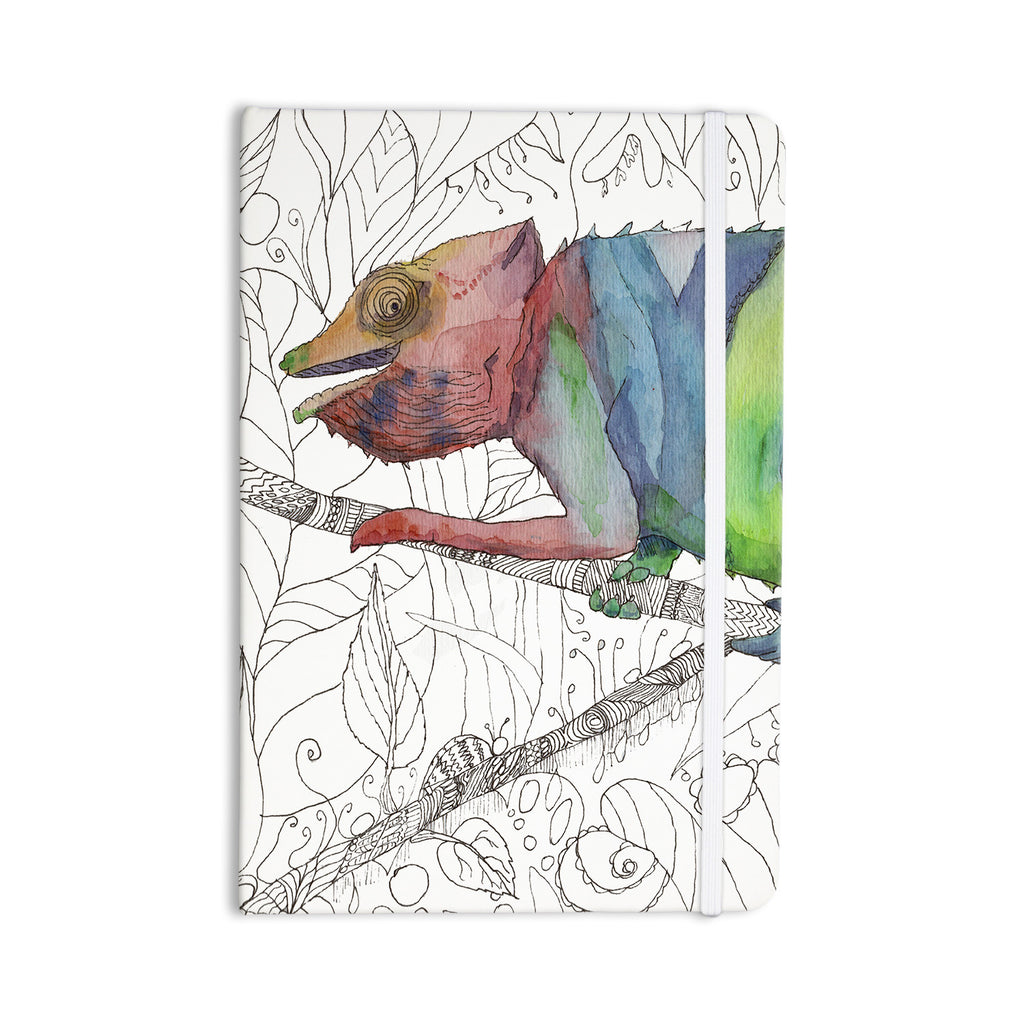 "Catherine Holcombe ""Chameleon Fail"" Everything Notebook - KESS InHouse  - 1"