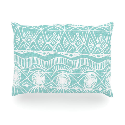 "Catherine Holcombe ""Beach Blanket Bingo"" Oblong Pillow - KESS InHouse"