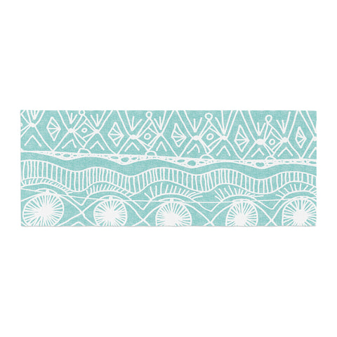 "Catherine Holcombe ""Beach Blanket Bingo"" Bed Runner - KESS InHouse"