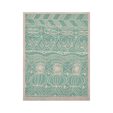 "Catherine Holcombe ""Beach Blanket Bingo"" KESS Naturals Canvas (Frame not Included) - KESS InHouse  - 1"