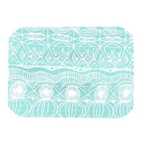 "Catherine Holcombe ""Beach Blanket Bingo"" Place Mat - KESS InHouse"
