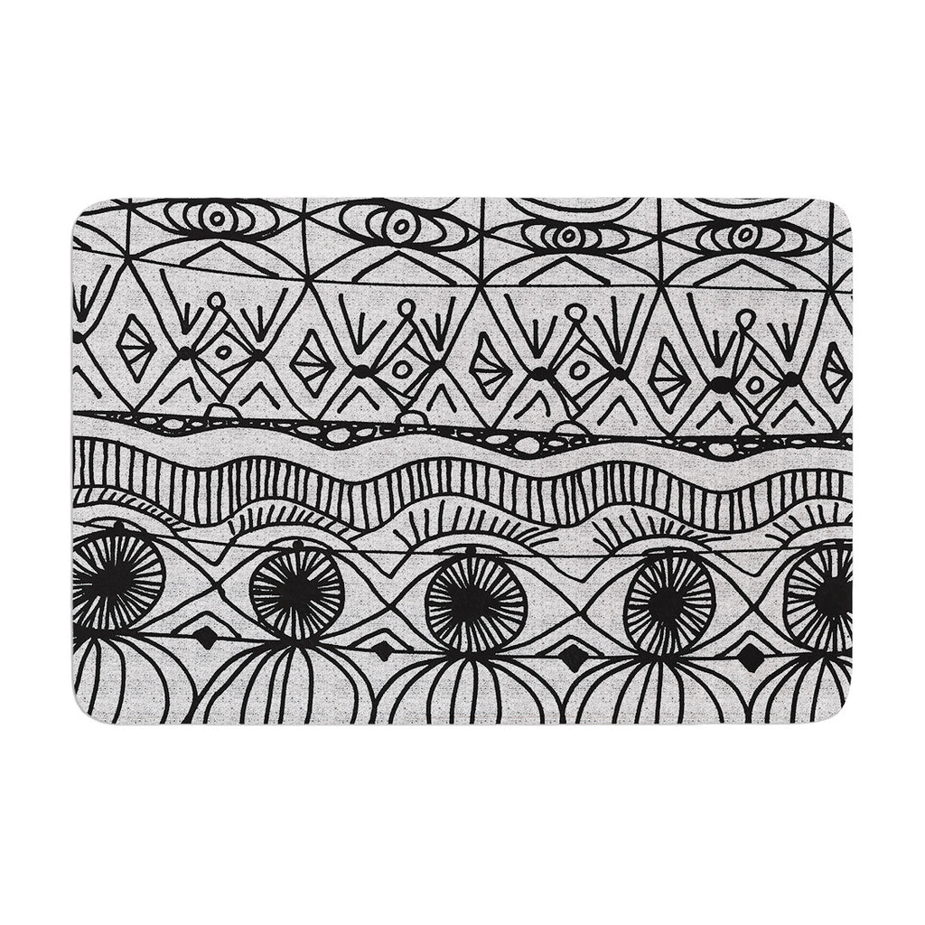 "Catherine Holcombe ""Blanket of Confusion"" Memory Foam Bath Mat - KESS InHouse"
